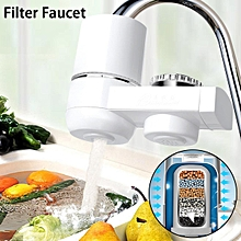 Universal Kitchen Water Filter Faucet Mount Washable Replaceable Water Purifier