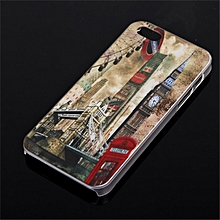 For Apple IPhone 5&5S  dull polish architecture painting Case Cover
