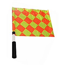 Referee Flag Type - 2 Linesman Flag - Diamond Design