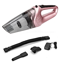 Car Home Dual Use Vacuum Cleaner Cordless Dust Catcher For Dry Wet Dust Dirt rose gold