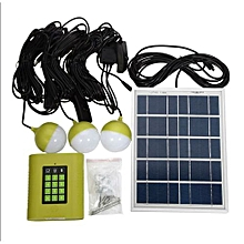 20Wh Solar Home Lighting System Kit  - Green