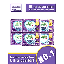 Fofas Sanitary Pad  Xtra Long (320MM) 7 Pads(COUNT 42)
