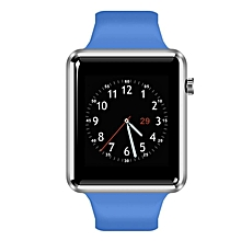 A12 - 1.54\ Smart Watch Phone MTK6261 Sedentary Reminder Pedometer 380mAh - Blue""