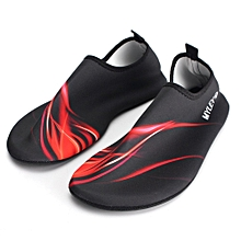 Outdoor Water Sport Neoprene Scuba Diving Swim Snorkeling Socks Surf Beach Shoes Men/Women Red M-Multicolor