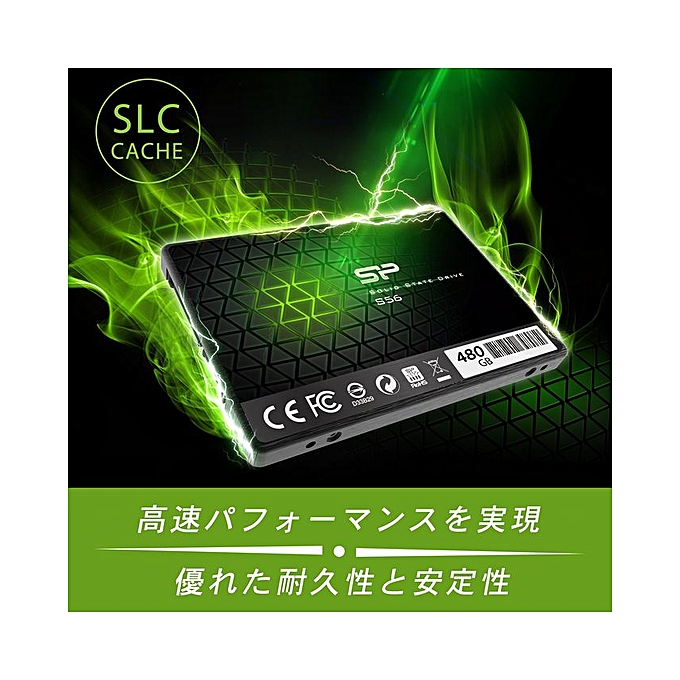 Silicon Power SSD 480GB TLC adopted Phison controller S…