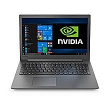 "Ideapad 130-15.6""-Intel Core i5 Quad 8250u-1TB Hdd-4GB Ram-GeForce MX150 2GB GDDR5-Free DOS-Black"