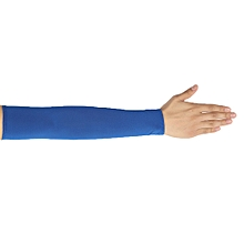 Africanmall store Unisex UV Protection Sleeves Arm Cooling Sleeves Ice Silk Arm Cover Sleeves-AS Shown