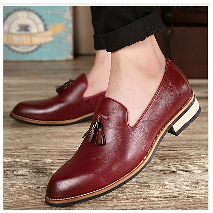 Buy Generic Fashion Oxford Business Men Shoes Genuine Leather High