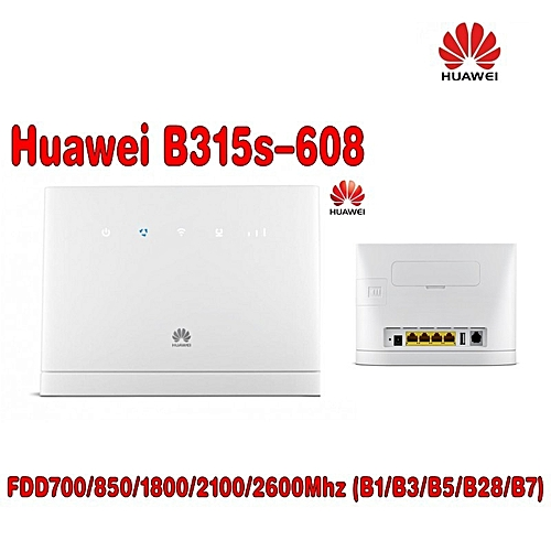 Huawei wireless router- B315s-608 4G cpe Router 2pcs antenna