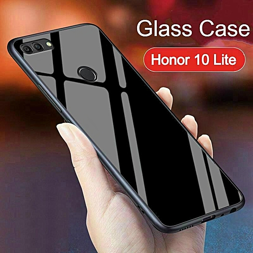 watch dced3 17a04 Glass Case For Honor 10 Lite Cover Full Protection Tempered Glass Back  Cover Casing For Huawei Honor 10 Lite Housing