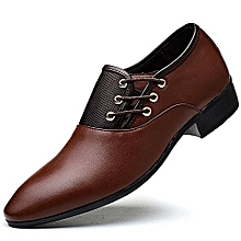 Refined Beauty Generic New Fashion Crocodile Style Men Dress Shoes, High Quality Men Oxford, Oxford Shoes For Men Size 38-47 Black