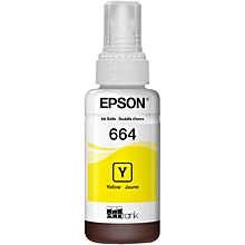 Epson T664 Yellow Ink Bottle