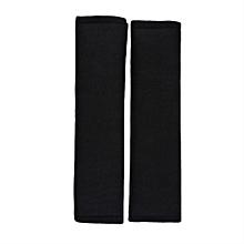 2Pcs Car Comfortable Safety Seat Belt Shoulder Pads Cover Soft Cushion