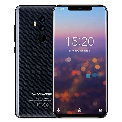 Z2 Pro Dual 4G 6GB+128GB 6.2 inch Sharp Android 8.1 Wireless Charge 4G Smartphone(Black)