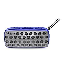 NR - 4011 Waterproof Wireless Bluetooth Speaker Stereo Sound Player-BLUE