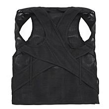 New Posture Back Shoulder Lumbar Corrector Support Brace Belt Therapy Adjustable  XXL