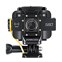 SOOCOO S80 1080P HD WIFI 140 Degree Wide Angle Waterproof Sport Action Camera Camouflage