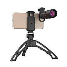 Apexel APL-18XJJ04 18X Telescope Zoom Monocular Lens Phone Clip Foldable Monopod Tripod Set