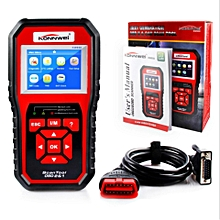 ODB 2 Automotive Scanner Multi-languages Full OBDII Function Auto Diagnostic Tool KW850 For proton Perodua More Petrol Car LBQ