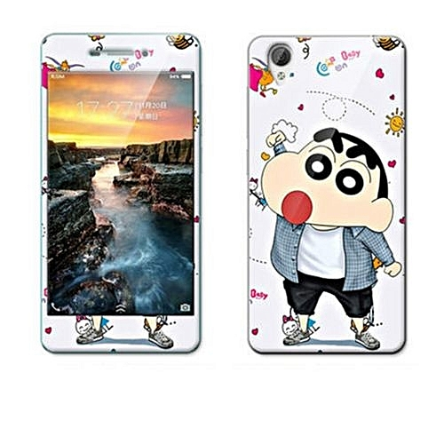 Luxury 3D Painting Front+Back Full Case Cover Color Tempered Glass Case For Vivo Y31