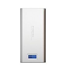 Pineng PN989 20000mAH with LCD PowerBank - Silver BGmall