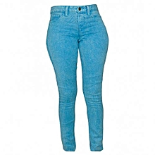 Sky Blue Women's Skinny Pants