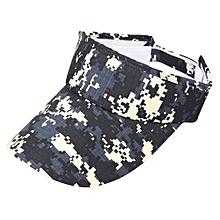 Dealstock Plain Men Women Sport Sun Visor Adjustable Cap CE4#
