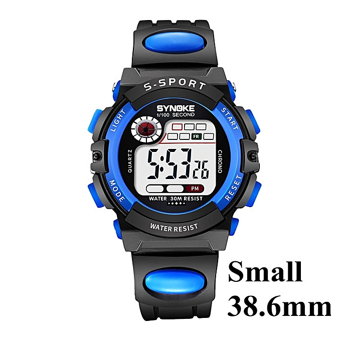 dd89d9d06ac Children LED Digital Sport Watch Kids Watches Boys Girls Students Clock  Child Electronic Wrist Watch for