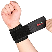 Mumian C01 Classic Sports elastic Stretchy Wrist Joint Brace Support Wrap Band Black