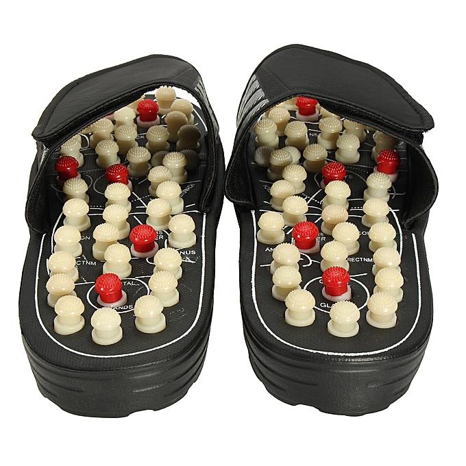 78ce375105ef Reflexology Sandals Foot Massager Slipper Acupressure Foot Acupuncture Shoes   38-39-EU ...