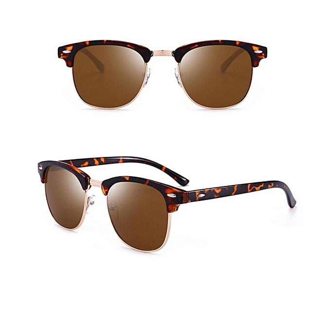 fa5d569805 Classic Unisex Polarized Sunglasses Men Women Vintage Outdoor Square Mirror  Sun Glasses UV400 Rays Drive Eyewear