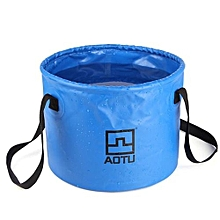 AI Aotu Collapsible Bucket Multifunctional Folding Bucket For Camping Hiking BU