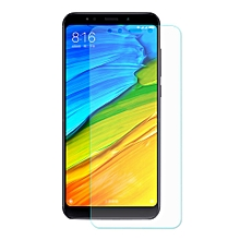 Makibes Transparent Xiaomi Redmi 5 Plus Tempered Glass Hat-Prince 0.33mm 9H 2.5D Explosion-proof Membrane -Transparent