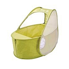 Pop-Up Travel Bassinette - Lemon & Lime