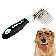 M581 Compact Dematting Comb Tool For Pets(baby Blue)