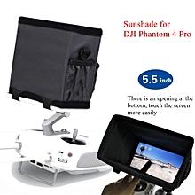5.5'' Phone Monitor Sun Hood Sunshade Plate For DJI Phantom 4 Pro Remote Control
