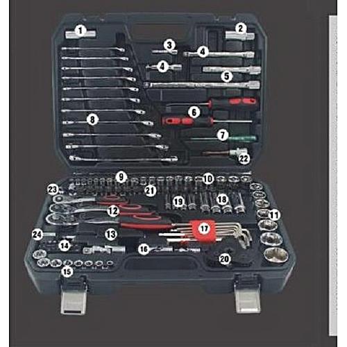 Generic 121 Pieces Auto Repair Tools Set @ Best Price