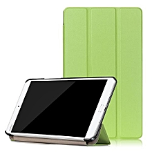 "For Huawei 2016 M3 8.0 Case, Ultra Slim Case + PU Leather Smart Cover Stand Auto Sleep/Wake For 8.4"" Mediapad BTV-W09/BTV-DL09, Green"