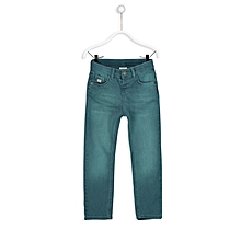 Blue Fashionable Skinny Jeans