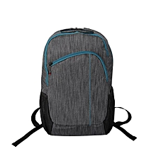 "Ascend1-BP :Grey Premium Accented Laptop BAG for Laptops upto 15.6"" with Multiple Storage Options"