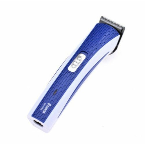 Rechargeable Hair And Beard Trimmer - White & Blue