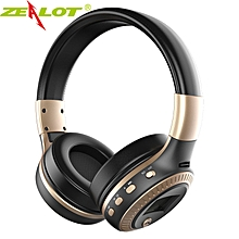 ZEALOT B19 Bluetooth Headset / SD Card / FM Radio - Gold
