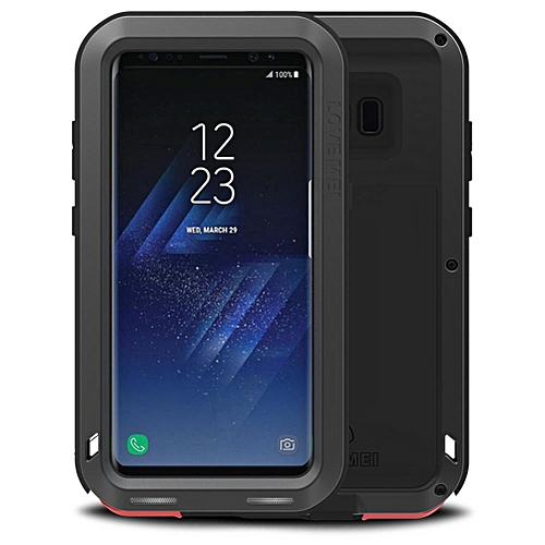 designer fashion 1d9ad eeb56 For Samsung Galaxy S8 Waterproof Case,Dustproof Shockproof Dustproof  Snowproof Dustproof Long-lasting Heavy Duty Full-body Protection Aluminum  Metal ...