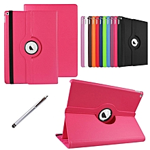 360 Degrees Rotating Stand Leather stand Case Smart Cover for New Apple iPad Pro 12.9 inch with Stylus Pen Mll-S