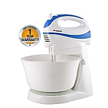 Electric 5 Speed Turbo Stand Mixer - White