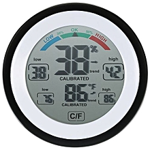 Digital Thermometer Hygrometer Temperature Humidity Meter Touch Screen MAX./MIN.