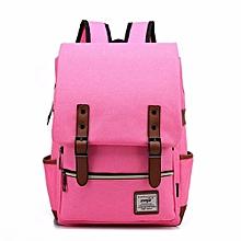 Women Men Laptop Backpack School Bookbag Rucksack Travel Shoulder Bag Satchel  Rose  Red NEW
