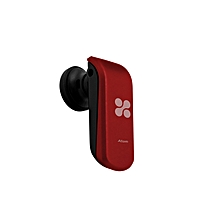 ATOM- Maroon Multipoint Pairing Bluetooth v3.0 Voice Prompt Headset