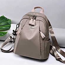 PU Leather Monkey Bag college bag grey