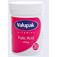 Folic Acid - 400µg 90`s